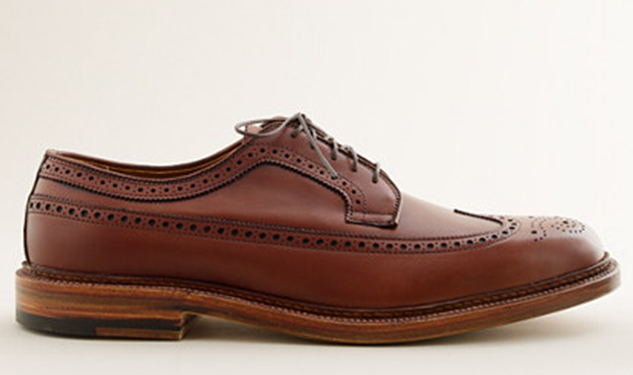 Daily Crush: Waxed Longwing Bluchers by Alden for J.Crew