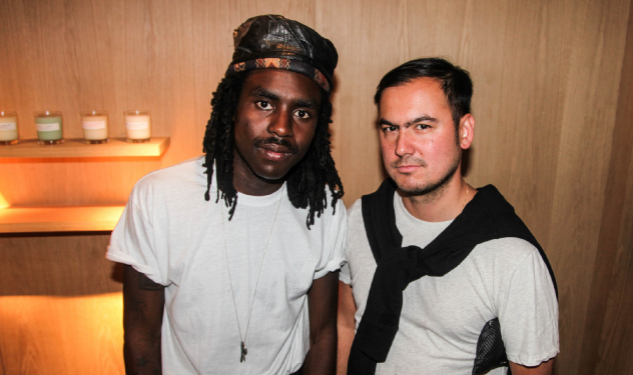 Louis W. Launches New Collection At A.P.C. Bond St (With Dev Hynes)