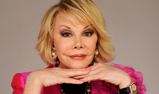Joan Rivers Brings Her Escorts To Broadway