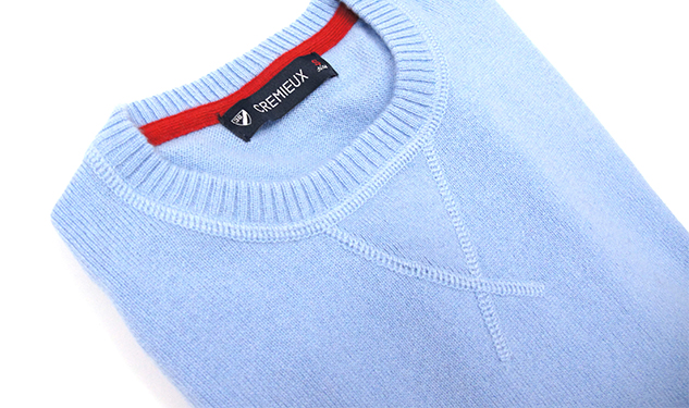 Daily Crush: Cashmere Crew-Neck Sweater by Crémieux