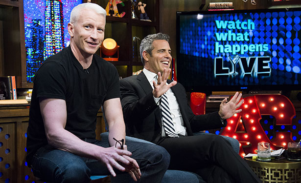 Anderson Cooper: Andy Cohen Is a Top