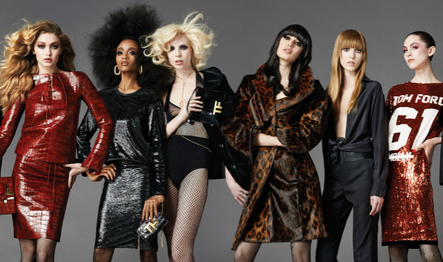 Tom Ford Taps Yaya DaCosta and Trans Model Valentjin de Hingh For Fall Campaign