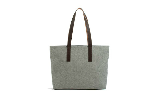 Daily Crush: Twill Zip Tote by Everlane
