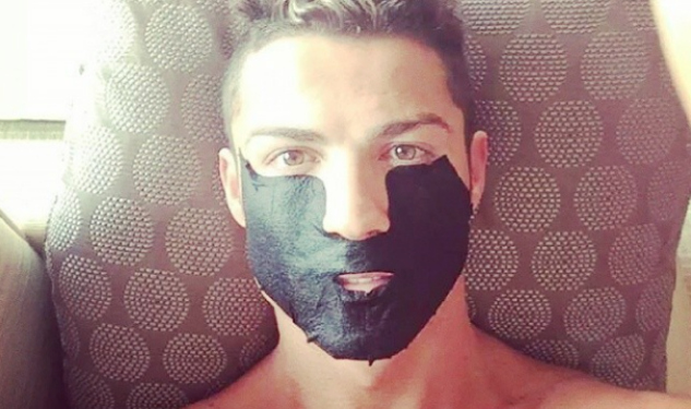 Cristiano Ronaldo Loves Facials