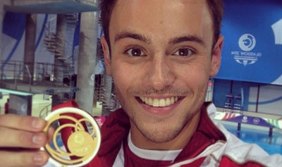 Tom Daley Wins Gold at Commonwealth Games