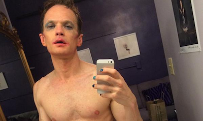 Neil Patrick Harris Shares Nude Selfie from Hedwig Dressing Room