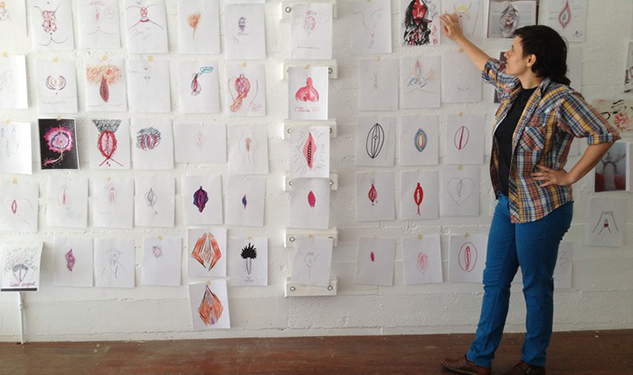 Fund This: Gay Men Draw Vaginas for Photo Book