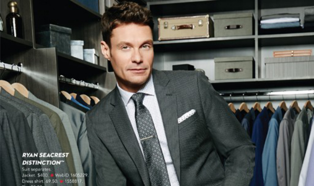 Ryan Seacrest Collaborates with Macy's on Menswear Line