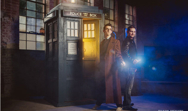 Gay Doctor Who Fans Share Adorable Engagement Photos