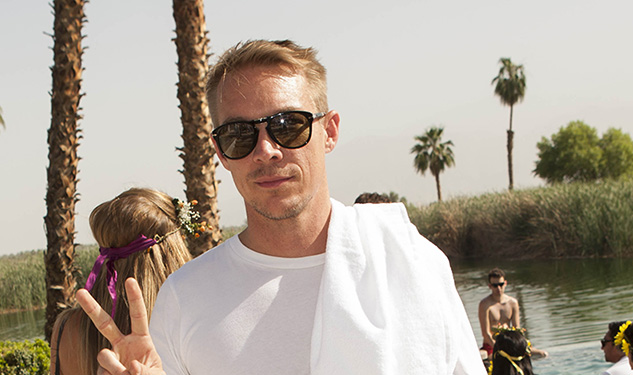 Diplo Opens Up About Working With Madonna