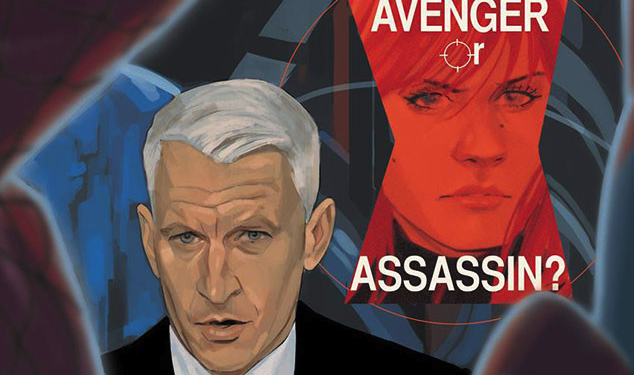 Anderson Cooper Joins the Marvel Universe?