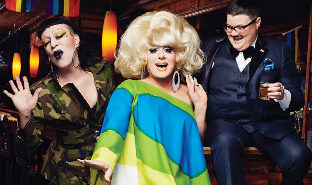 OUT100: Murray Hill & Lady Bunny & Joey Arias