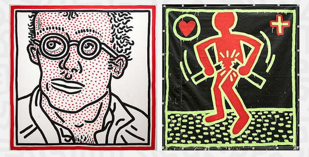Keith Haring: The Political Line in San Francisco Highlights His AIDS Activism