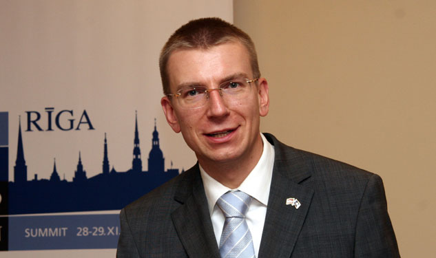 Latvia's Foreign Minister Tweets: 'I Am Gay'