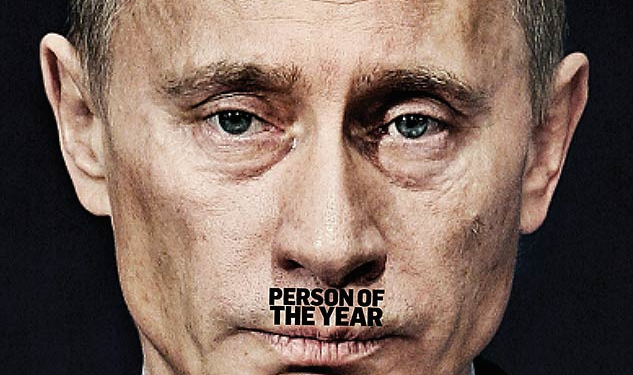 Vladimir Putin: The Advocate's Person of the Year