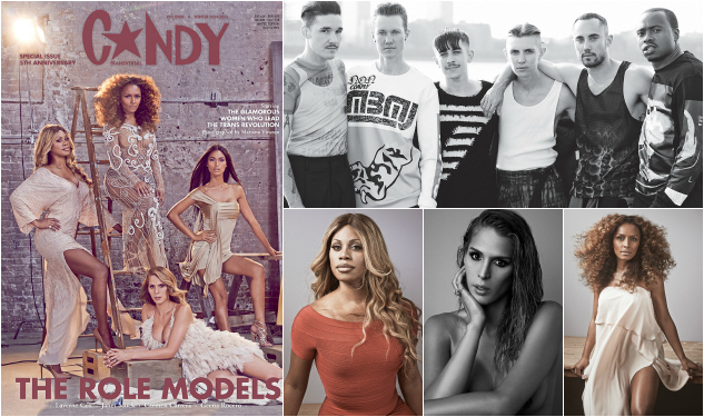 What's Inside Candy Magazine's 5th Anniversary 'Transversal' Issue?