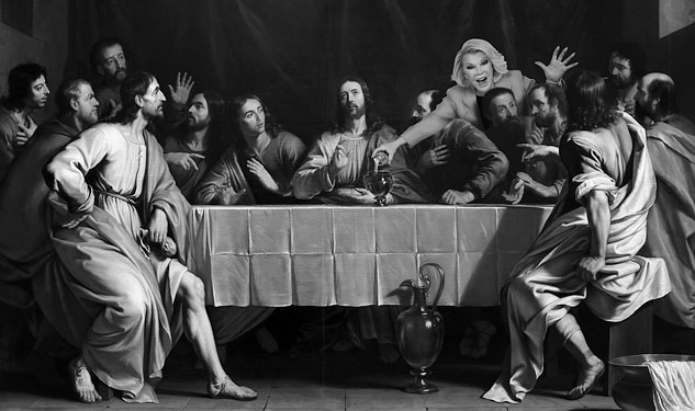 JoanLast SupperServer Grayscale