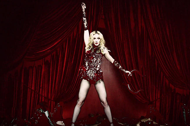 Madonna Living For Love Video