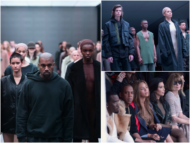 c11572ae6 WATCH  Kanye West Presents His Collection With Adidas At NYFW