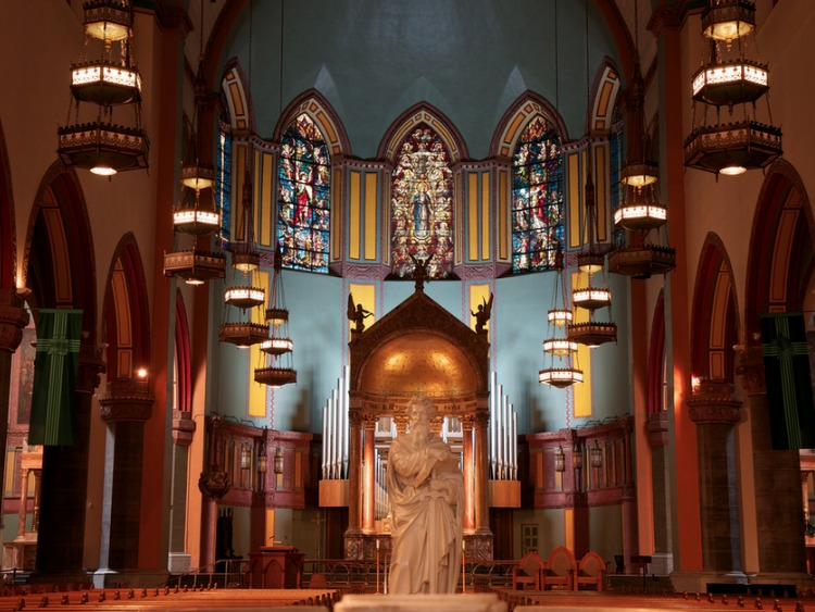 Church of St Paul the Apostle in New York City
