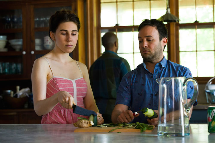 Zosia Mamet and Danny Strong on Girls