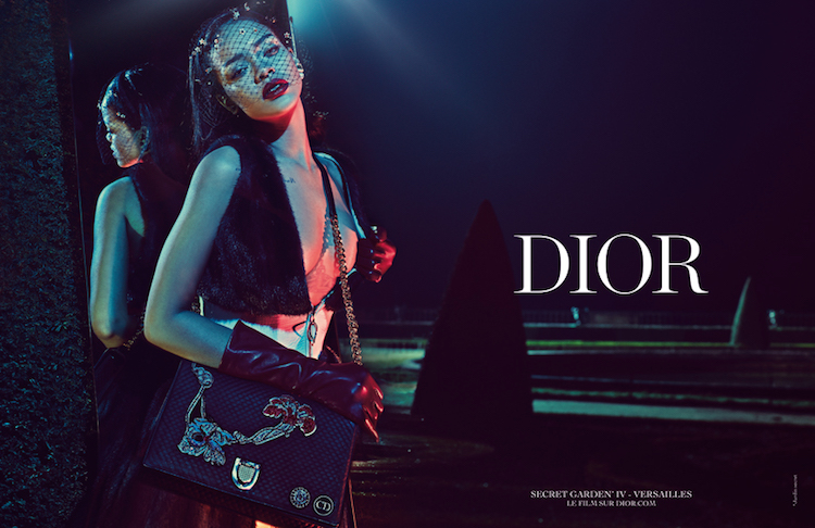 fddb3e7544d6 Rihanna Stuns in Dior Campaign as First Black Muse