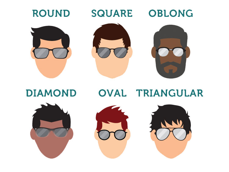 899d08fc89 How to Pick the Best Sunglasses for Your Face Shape (Infographic)