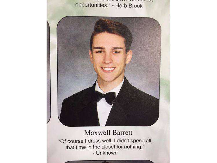 Teen Comes Out With Best Yearbook Quote Of Our Times Out Magazine
