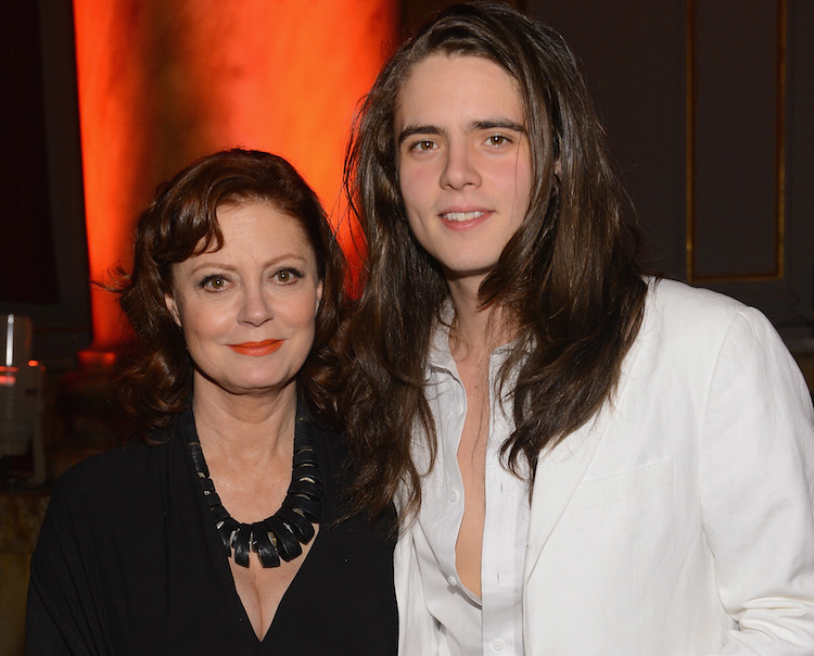 proud mother susan sarandon says her son miles sometimes