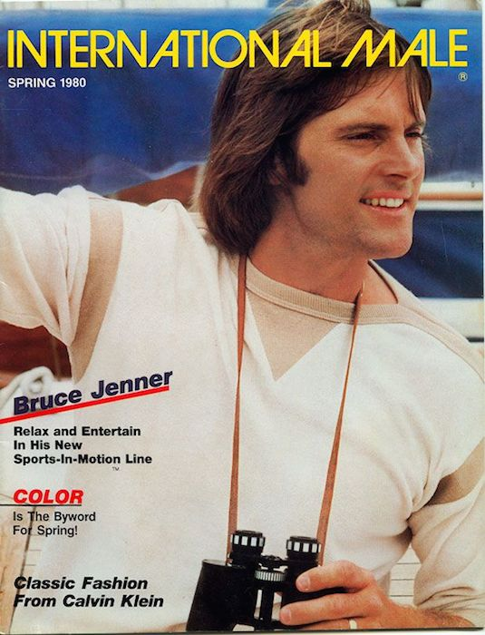 Bruce Jenner on the cover of International Male