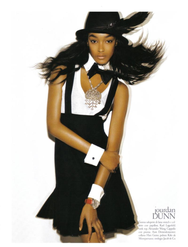 jourdan dunn vogue italia