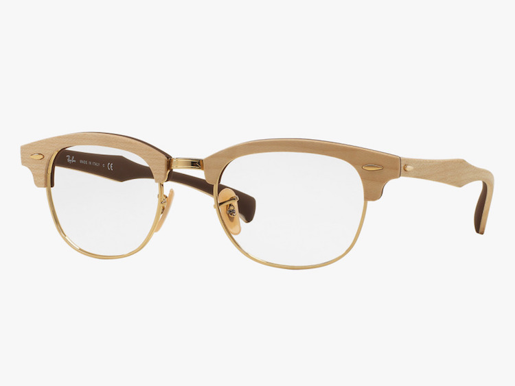 Daily Crush: Wooden Frames by Ray Ban and Giorgio Armani