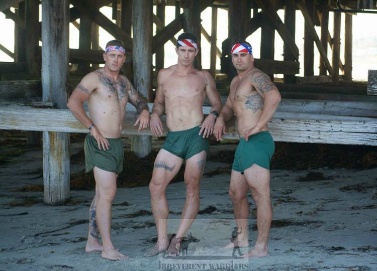 Marines Strip Down for PTSD Suicide Awareness | Out Magazine