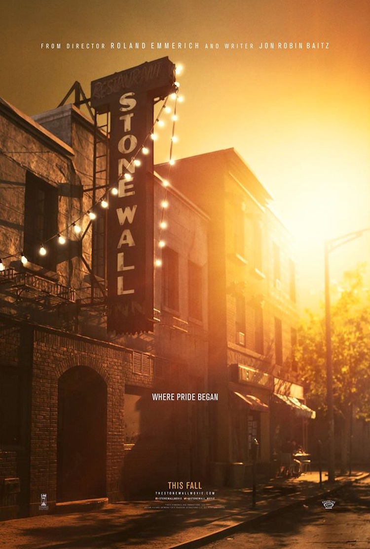 first stonewall poster revealed