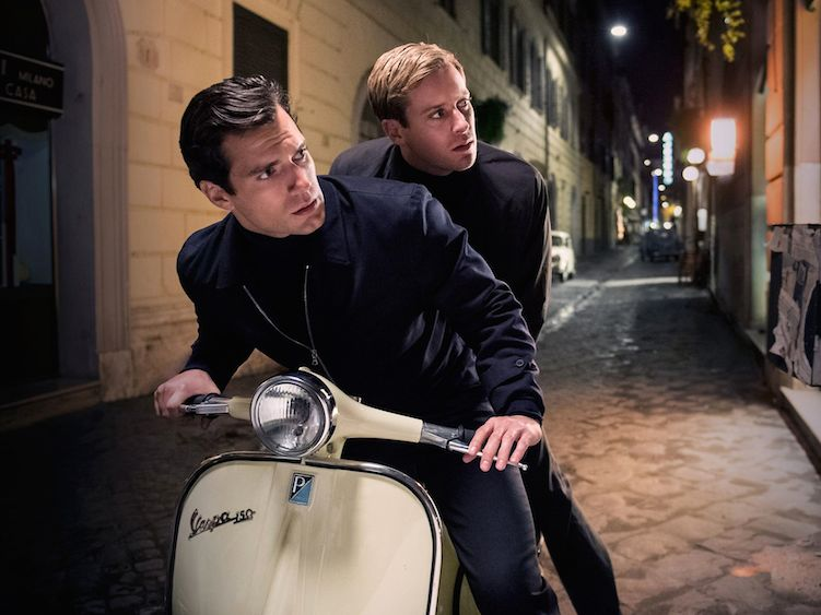 Henry Cavill Armie Hammer in The Man from UNCLE