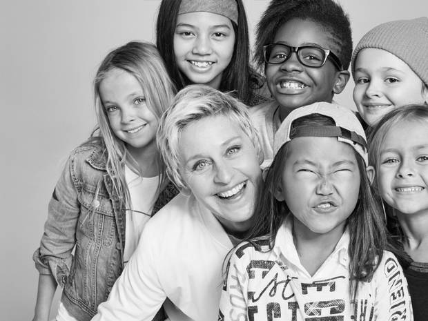 6a8b44a96 Ellen DeGeneres & Gap Launch New Clothing Line for Girls That Challenges  Stereotypes