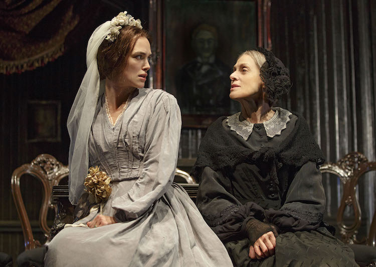 Keira Knightley and Judith Light in THERESE RAQUIN photo by Joan Marcus