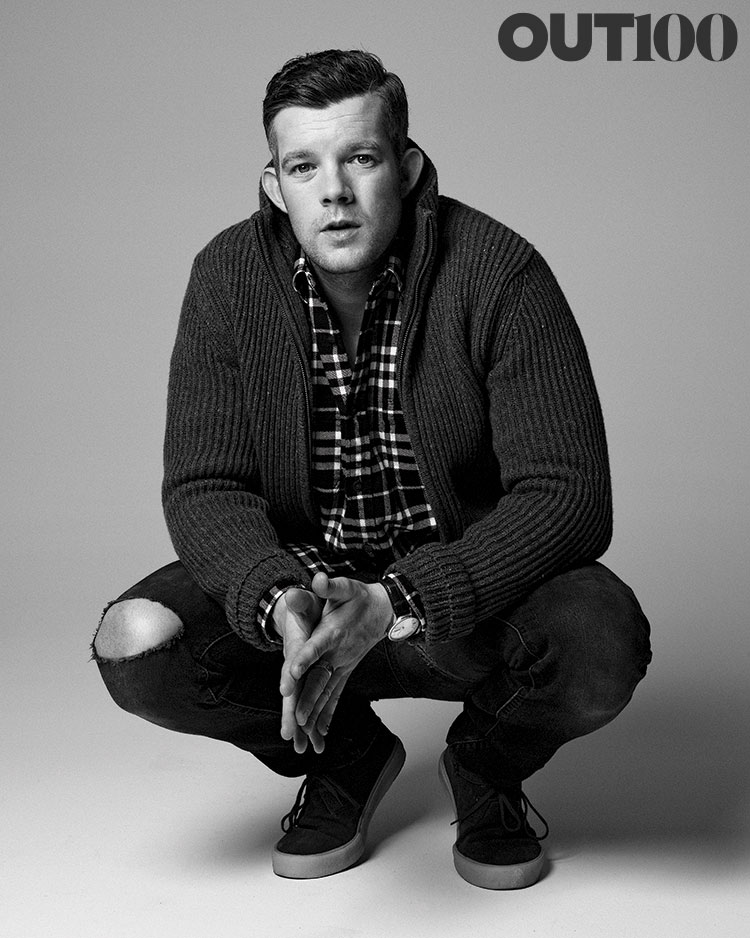 Out100 russell tovey out magazine