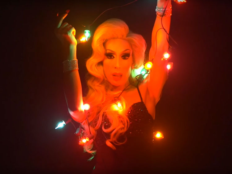 Alaska 5000 Gets Festive in 'Everyday Is Christmas' | Out Magazine
