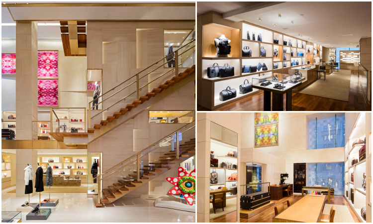 Louis Vuitton Fifth Avenue flagship