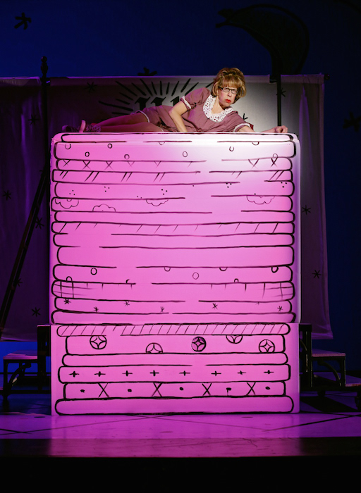 Jackie Hoffman in Once Upon a Mattress