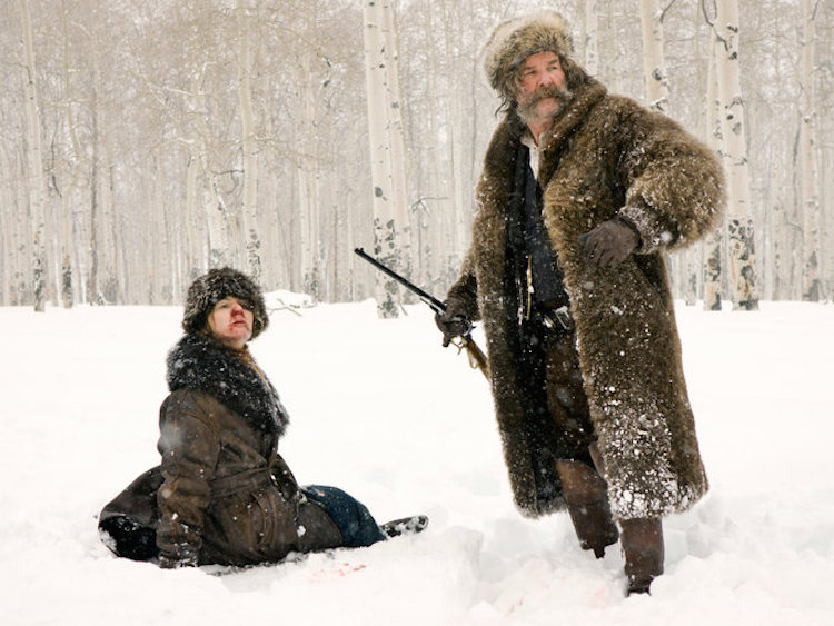 Hateful Eight by Tarantino with Kurt Russell and Jennifer Jason Leigh