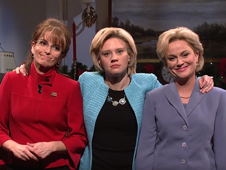 Watch: SNL 'A Hillary Christmas' With Tina, Amy & Kate | Out Magazine