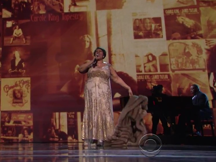 aretha franklin kennedy center honors