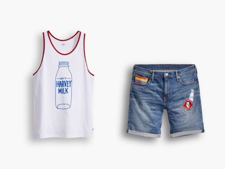 Daily Crush: Levi's & The Harvey Milk Foundation Team Up on Gender-Neutral Pride Collection