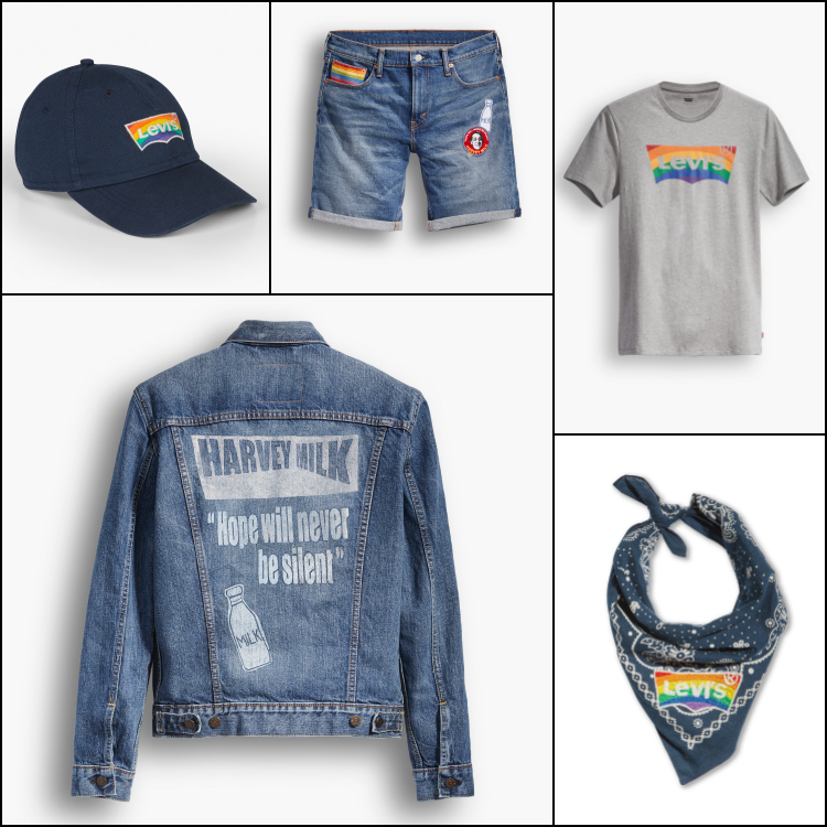 Harvey Milk Pride collection Levis