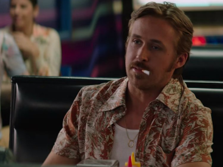 Watch Ryan Gosling And His Pornstache In The Nice Guys