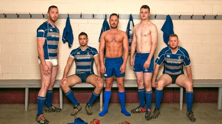 Gay naked rugby