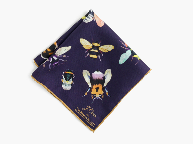 Daily Crush: U0027Save The Beesu0027 Pocket Square By J. Crew