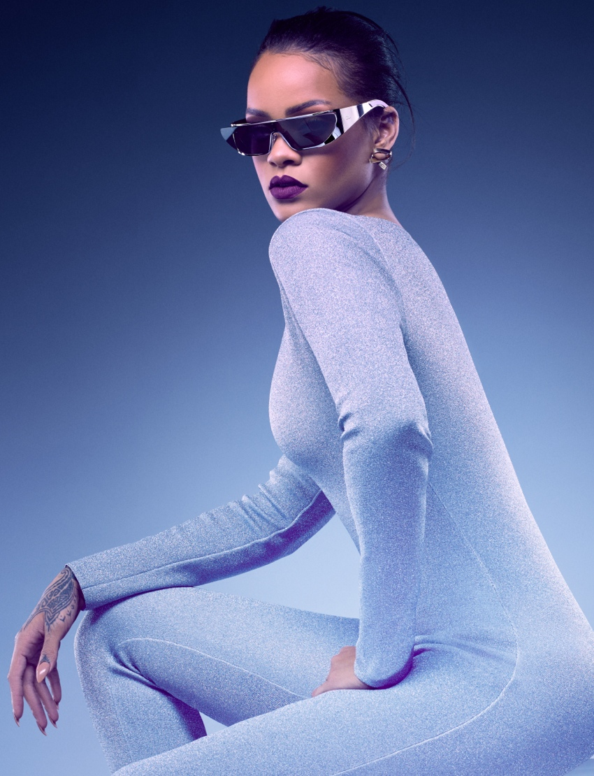 c5219175e22 Rihanna Throws Serious Shade in New Dior Campaign